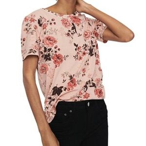 Maje   Floral Tee, Size S